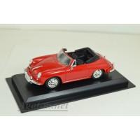 09-ЛА Porsche 356B Cabrio, красный