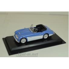 35-ЛА Austin Healey 3000 Mk III 1964 г., голубой с белым