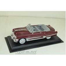 50-ЛА Cadillac Coupe De Ville 1949 г., бордовый