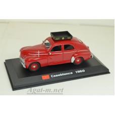 04-ТМ OPEL PEUGEOT 203 Casablanca, красный (1960г.)