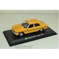 14-ТМ PEUGEOT 504 Lagos, желтый (1977г.)