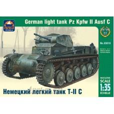 35018-АРК Немецкий легкий танк Т-II C