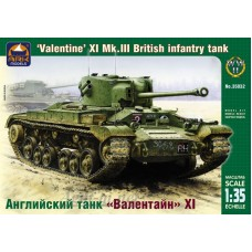"""35032-АРК Английский пехотный танк """"Валентайн"""" XI Mk.III"""