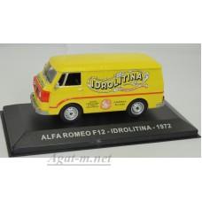"008AF-АТЛ ALFA ROMEO F12 ""IDROLITINA"" 1972 Yellow"