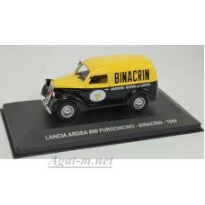"028AF-АТЛ LANCIA ARDEA 800 FURGONCINO ""BINACRIN"" 1949 Yellow/Black"