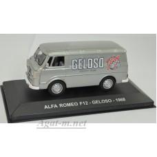"041AF-АТЛ ALFA ROMEO F12 ""GELOSO"" 1968 Grey"