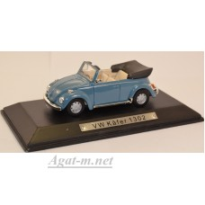 7129118-АТЛ VW Kafer 1302 Cabrio 1970 Light Blue