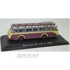 7163103-АТЛ Автобус HENSCHEL HS 100 N 1953 Yellow/Brown
