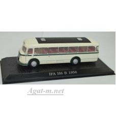 7163108-АТЛ Автобус IFA H6 B 1958 Green/White