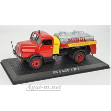 "7167107-АТЛ IFA S 4000-1 SW 7 заправщик ""MINOL"" 1957 Red/Yellow"