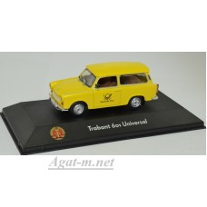 "7230009-АТЛ TRABANT 601 Universal ""Deutsche Post"" 1990 Yellow"