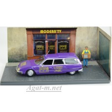 "2428008-АТЛ CITROEN CX Break ""Magasin radio - tele"" 1977 Purple"