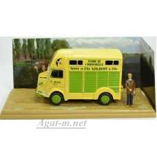 2428009-АТЛ CITROEN Type H marchand de betail 1966 Yellow