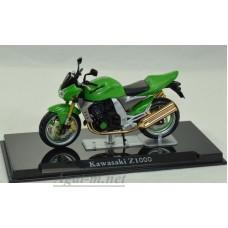 4110110-АТЛ Мотоцикл KAWASAKI Z1000 Green