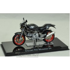 4110112-АТЛ Мотоцикл DUCATI 900 Monster S4 Black