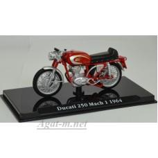 4658109-АТЛ Мотоцикл DUCATI 250 Mach 1 1964 Red