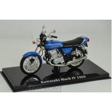 4658111-АТЛ Мотоцикл KAWASAKI Mach IV 1969 Blue