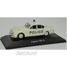 """4650101-АТЛ JAGUAR MkII """"Bedfordshire Police"""" 1961 Beige"""