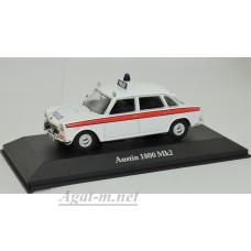 """4650107-АТЛ AUSTIN 1800 Mk2 """"Cheshire Police"""" 1969 White"""