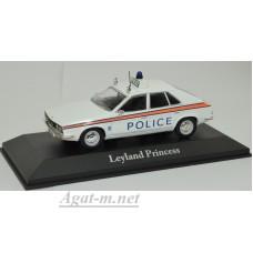 "4650114-АТЛ LEYLAND Princess ""Staffordshire Police"" 1975 White"