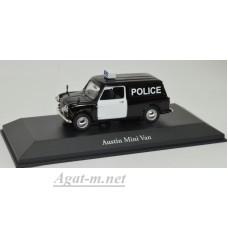 "4650123-АТЛ AUSTIN Mini Van ""West Yorkshire Police"" 1966 Black"