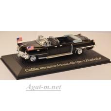 2696606-АТЛ CADILLAC Limousine визит Queen Elizabeth II Voyage и Dwight D. Eisenhower в Париж 1959г.