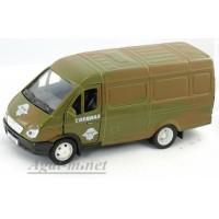 11484-АВБ Модель фургон военная