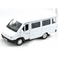 2902-АВБ Горький модель автобуcа, белый