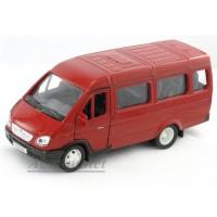 2902-1-АВБ Модель автобуса, красный