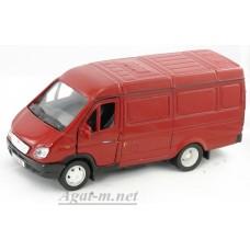 2904-1-АВБ Горький модель фургон, красный