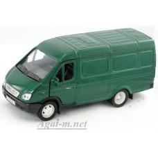 Масштабная модель Горький модель фургон, зеленый