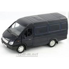 Масштабная модель Горький модель фургон, темно-синий