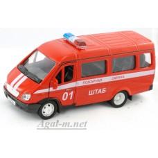 2917-АВБ Горький модель автобуса пожарный