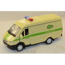 2919-АВБ Горький модель фургон инкассация