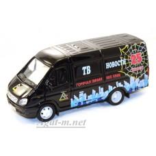 2921-АВБ Горький модель фургон телевидение