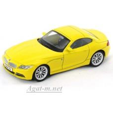Масштабная модель BMW Z4, желтый