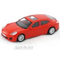 Масштабная модель Porscne Panamera Turbo, красный