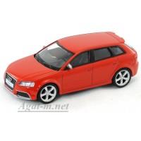 34267-АВБ Audi RS3 Sportback, красный
