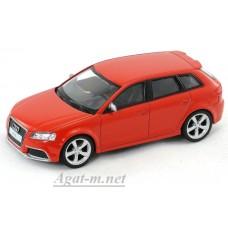 Масштабная модель Audi RS3 Sportback, красный