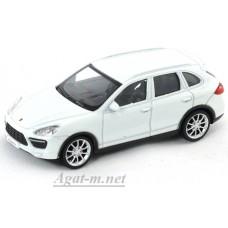 Масштабная модель Porscne Cayenne Turbo, белый