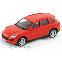 34268-АВБ Porscne Cayenne Turbo, красный
