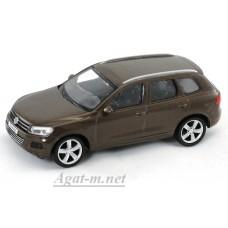 Масштабная модель Volkswagen Touareg, коричневый