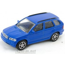 Масштабная модель BMW X5, синий