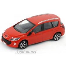 Масштабная модель Peugeot 308 SW, красный