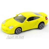 34303-1-АВБ Porsche 911 Turbo, желтый