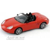 34305-АВБ Porsche Boxster, красный