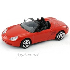 Масштабная модель Porsche Boxster, красный