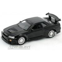 4701-3-АВБ Nissan Skyline GT-R R34, черный
