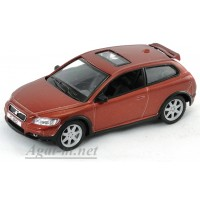4703-1-АВБ Volvo C30, коричневый