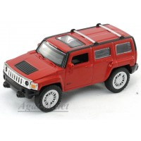 4706-2-АВБ Hummer H3, красный